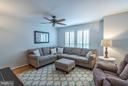 Living Room with Plantation Shutters - 21436 FALLING ROCK TER, ASHBURN
