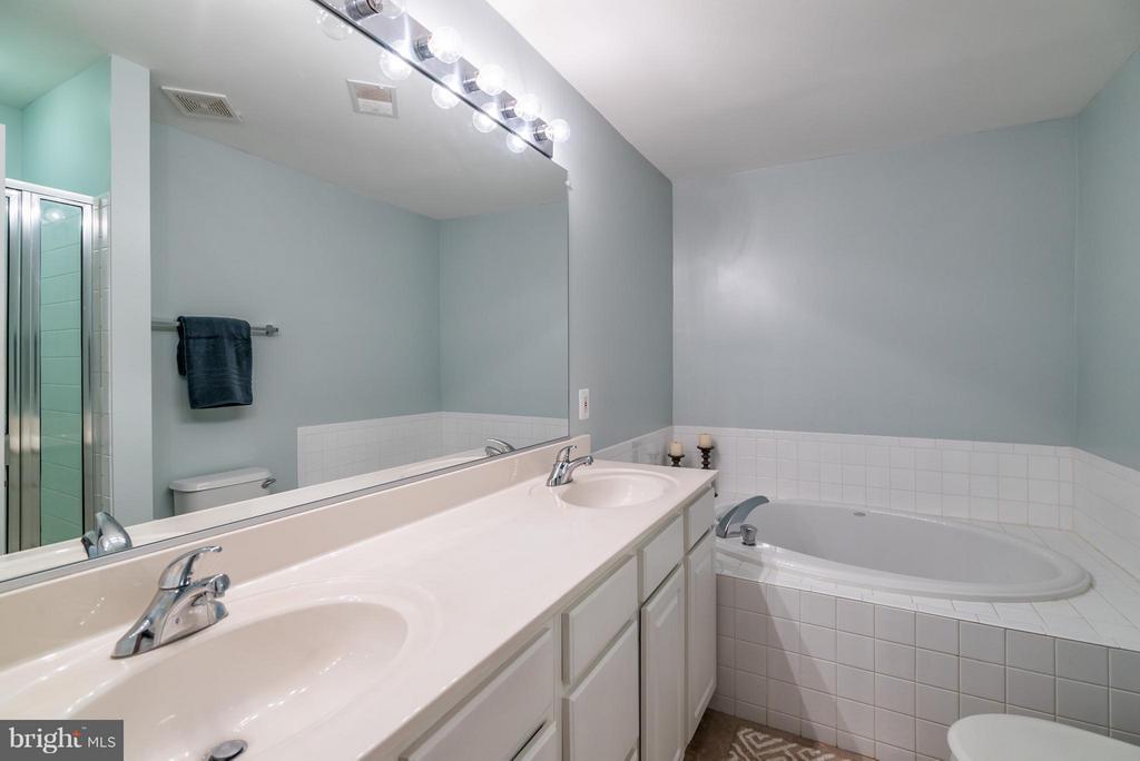 Dual Vanity, Tub & Shower - 21436 FALLING ROCK TER, ASHBURN