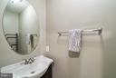 Lower Level Bathroom - New Vanity - 21436 FALLING ROCK TER, ASHBURN