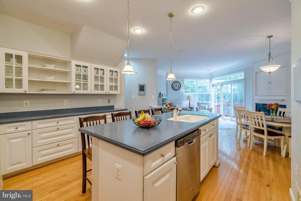 Stainless Steel Appliances & Ample Cabinetry - 21436 FALLING ROCK TER, ASHBURN