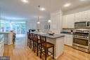 Spacious Kitchen with Large Island - 21436 FALLING ROCK TER, ASHBURN