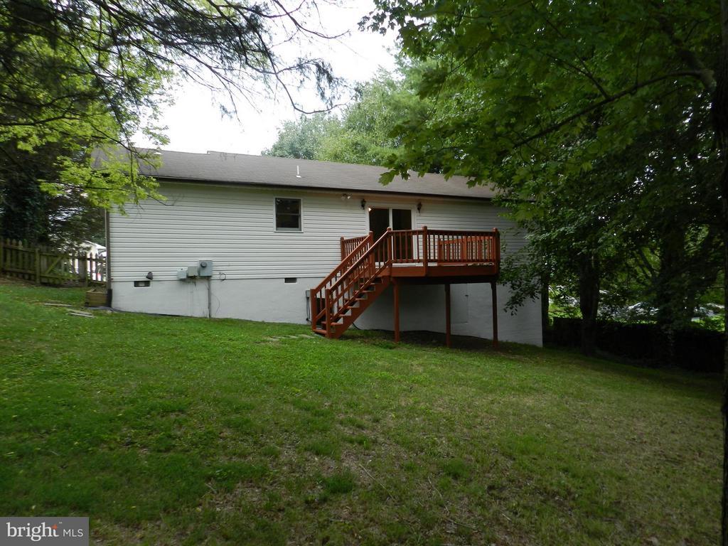 Exterior (Rear) - 6821 REDGROUND RD, FREDERICKSBURG