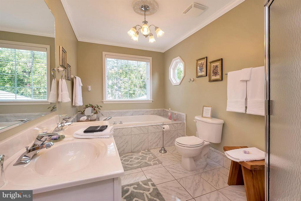 Full Bath to 1 of the Guest Rooms - 419 FORBES ST, FREDERICKSBURG