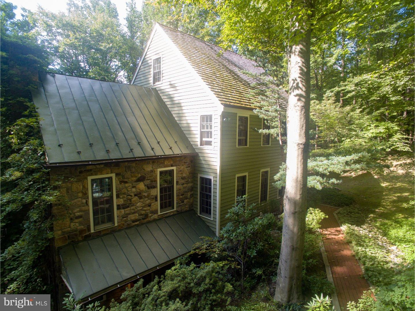 Photo of home for sale at 6357 Old Carversville Road, New Hope PA