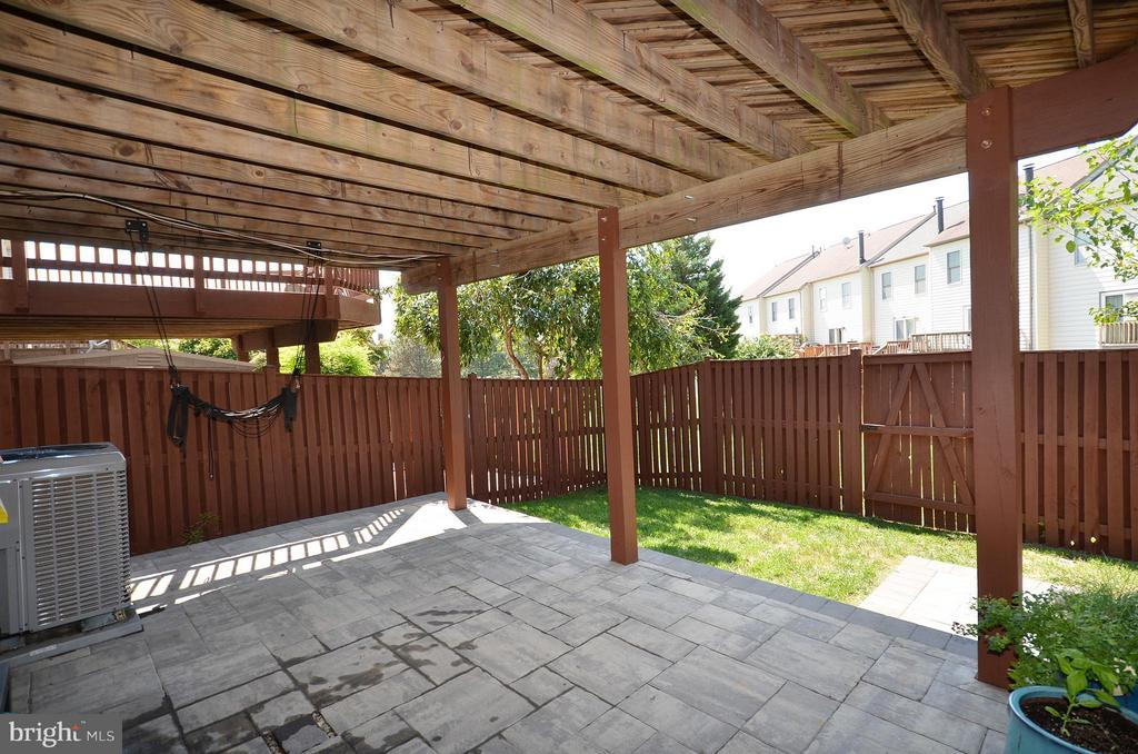 Fenced Rear Yard - 44067 LACEYVILLE TER, ASHBURN