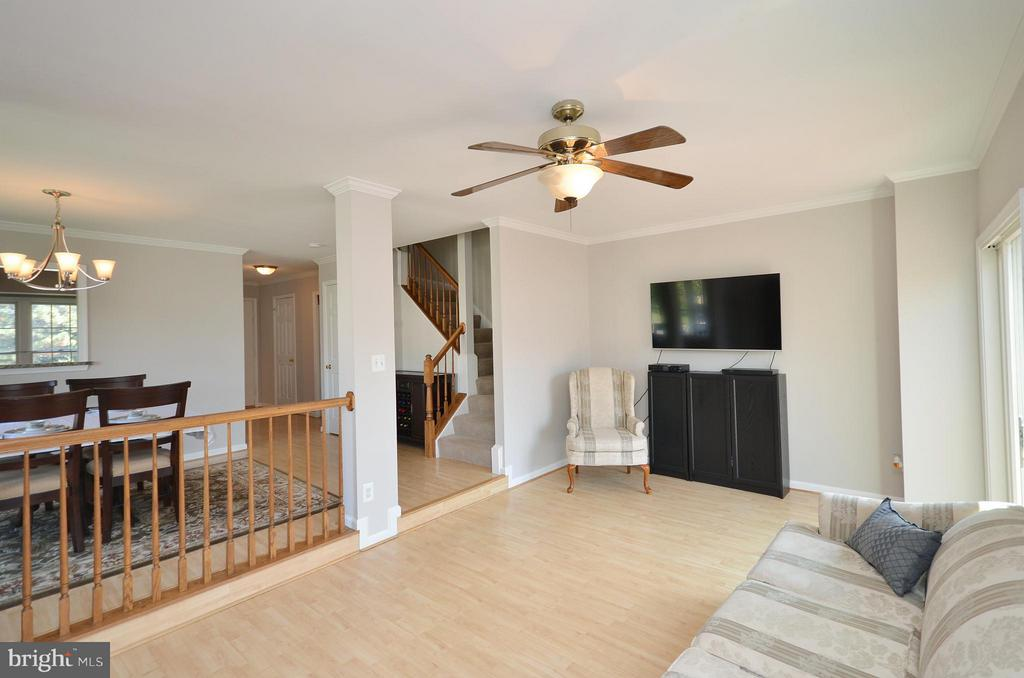 Living Room with Wood Laminant Flooring - 44067 LACEYVILLE TER, ASHBURN