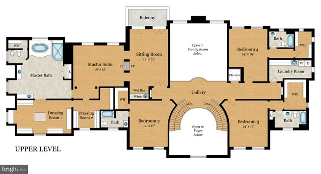 2nd Floor Plan - 8651 OLD DOMINION DR, MCLEAN
