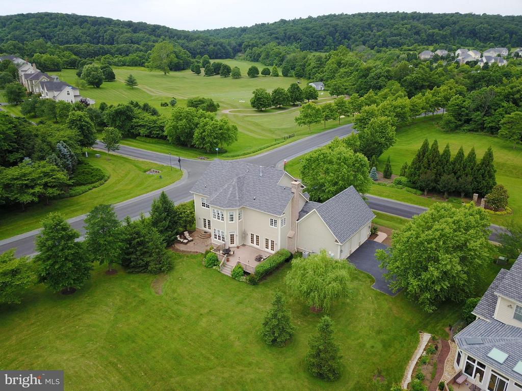 Views of driving range from property - 41707 PUTTERS GREEN CT, LEESBURG