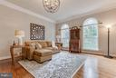 Spacious Living Room - 41848 RAWNSLEY DR, ASHBURN