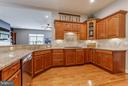 Gourmet Kitchen with Stainless Steel Appliances - 41848 RAWNSLEY DR, ASHBURN