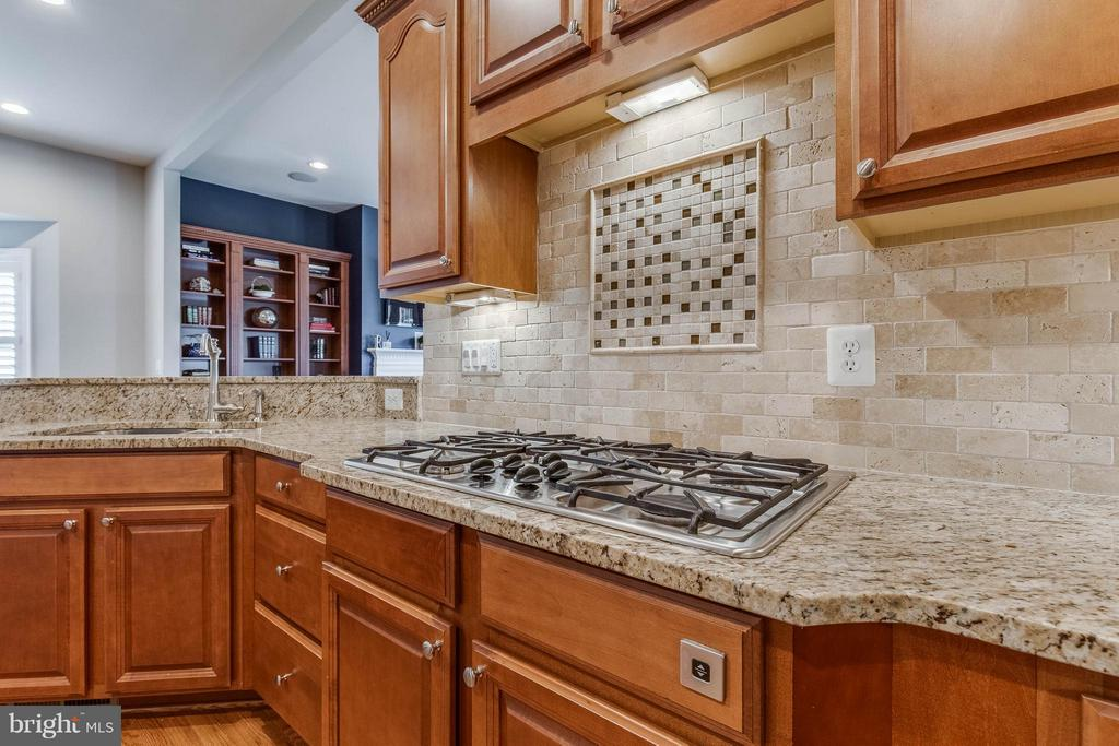 Gourmet Kitchen with Granite Counters - 41848 RAWNSLEY DR, ASHBURN