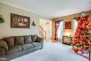 Formal living room with lots of light - 2521 REGENCY DR, FREDERICKSBURG