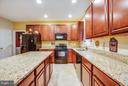 Spacious kitchen for granite counters and island - 2521 REGENCY DR, FREDERICKSBURG