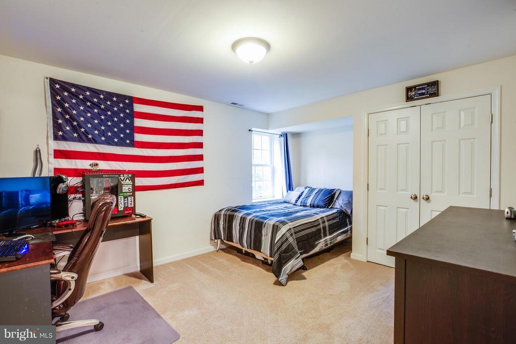 Bedroom #5 in basement - 2521 REGENCY DR, FREDERICKSBURG
