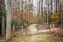 Beautiful wooded lot - 2521 REGENCY DR, FREDERICKSBURG