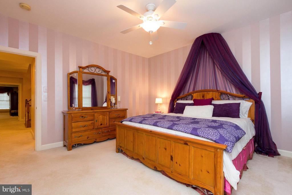 Bedroom 3 also has a ceiling fan. - 18332 BUCCANEER TER, LEESBURG