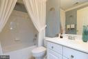 And of course, there's a full bath on this level. - 18332 BUCCANEER TER, LEESBURG