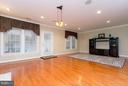 Hardwoods are an upgrade on this level. - 18332 BUCCANEER TER, LEESBURG