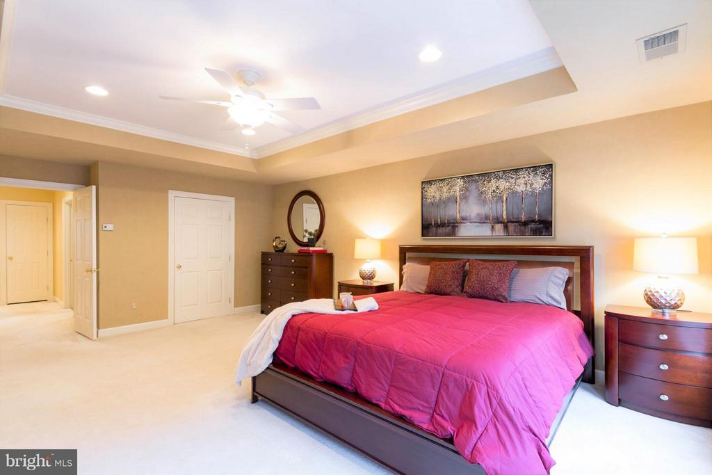 There is a walk-in closet & large second closet. - 18332 BUCCANEER TER, LEESBURG