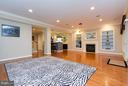 This room is ready for game day! - 18332 BUCCANEER TER, LEESBURG