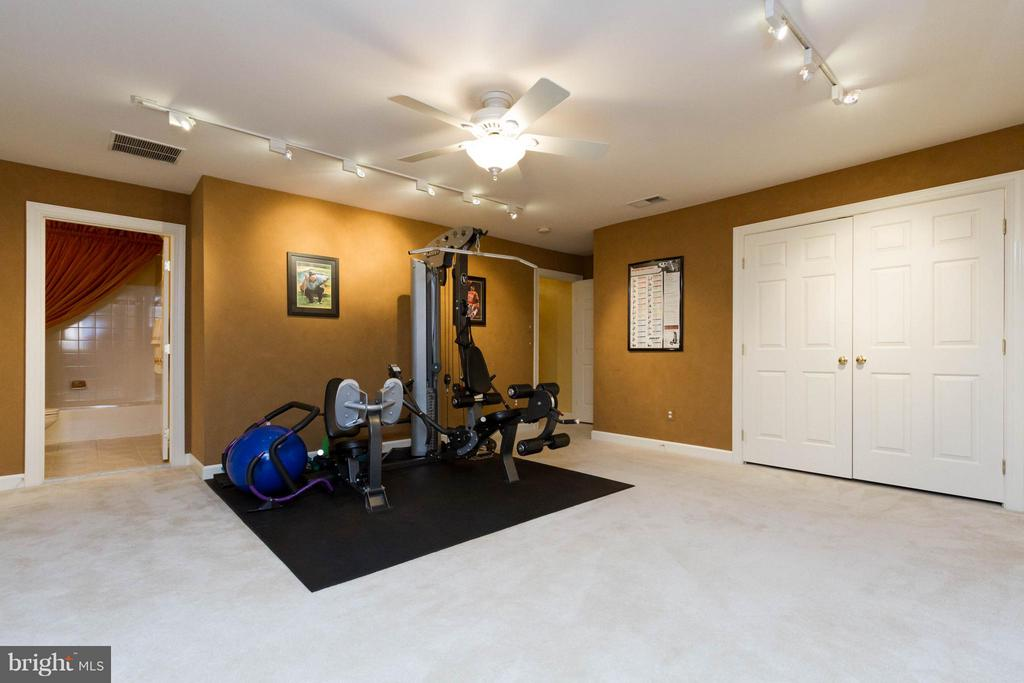 Track and recessed lighting are perfect additions - 18332 BUCCANEER TER, LEESBURG