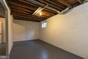 Lower Level Storage - 9647 LINDENBROOK ST, FAIRFAX