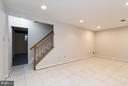 Lower Level Rec Room - 9647 LINDENBROOK ST, FAIRFAX