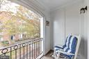 One of many private balconies - 472 BELMONT BAY DR, WOODBRIDGE