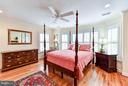 Bedroom # 2 with bay window and private balcony - 472 BELMONT BAY DR, WOODBRIDGE