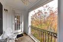 Upper level balcony - 472 BELMONT BAY DR, WOODBRIDGE