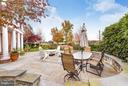 Private patio with beautiful views of bay - 472 BELMONT BAY DR, WOODBRIDGE