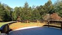 deck view of rear property - 13110 CEDAR RIDGE DR, CLIFTON