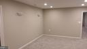 Basement theater room - 13110 CEDAR RIDGE DR, CLIFTON