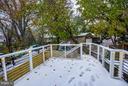 Large Trex Deck - 1516 44TH ST NW, WASHINGTON