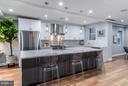 Gourmet kitchen with Quartz countertops - 1516 44TH ST NW, WASHINGTON