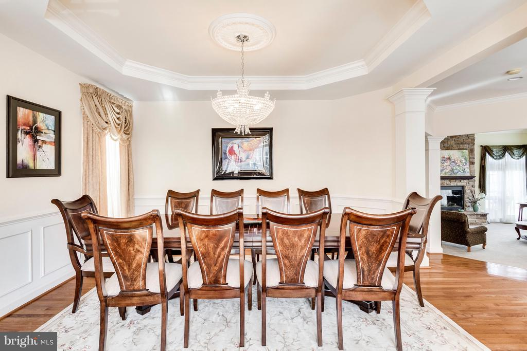 Formal Dining Room - 7202 GRAY HEIGHTS CT, ALEXANDRIA