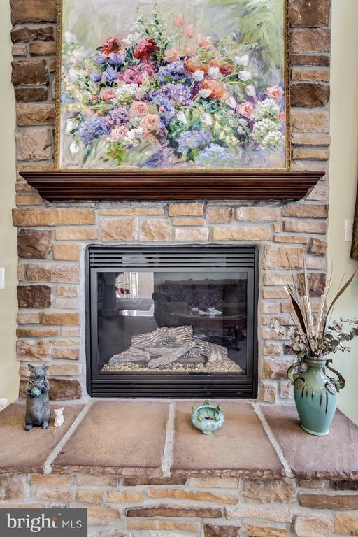 Gas Fireplace - 7202 GRAY HEIGHTS CT, ALEXANDRIA