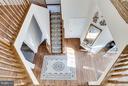 Stairs - 7202 GRAY HEIGHTS CT, ALEXANDRIA