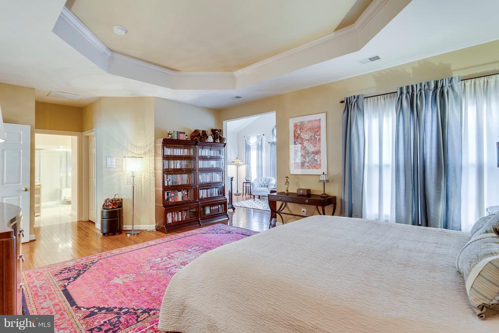 Master Bed w/ Tray Ceiling - 7202 GRAY HEIGHTS CT, ALEXANDRIA