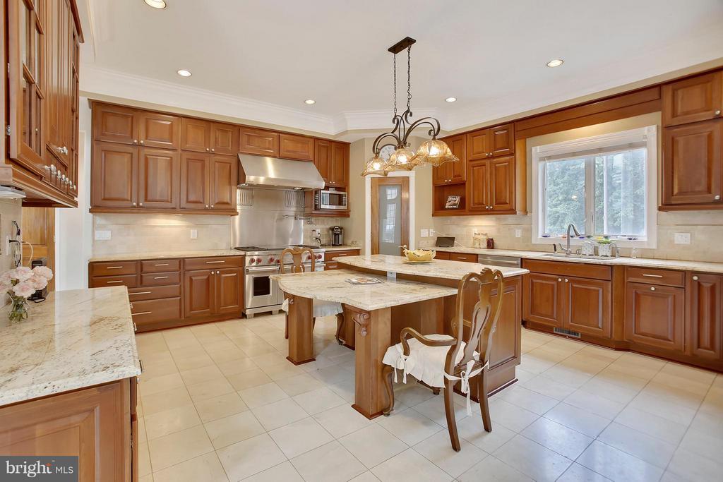 Chef's dream kitchen. - 22329 ROLLING HILL LN, GAITHERSBURG