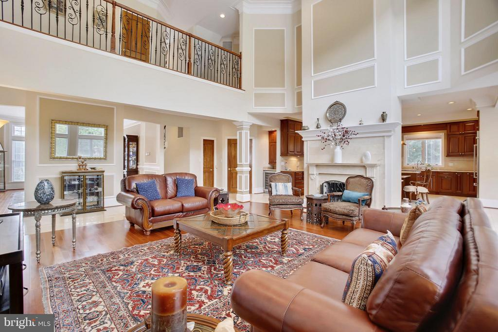 Family Room - 22329 ROLLING HILL LN, GAITHERSBURG