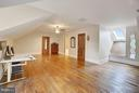 Bedrm 6 with walk-in and full bathroom. Skylights. - 22329 ROLLING HILL LN, GAITHERSBURG