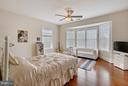 Bedroom 1 with walk-in and full shower. - 22329 ROLLING HILL LN, GAITHERSBURG