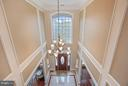 Two story foyer. Lots of natural light. - 22329 ROLLING HILL LN, GAITHERSBURG
