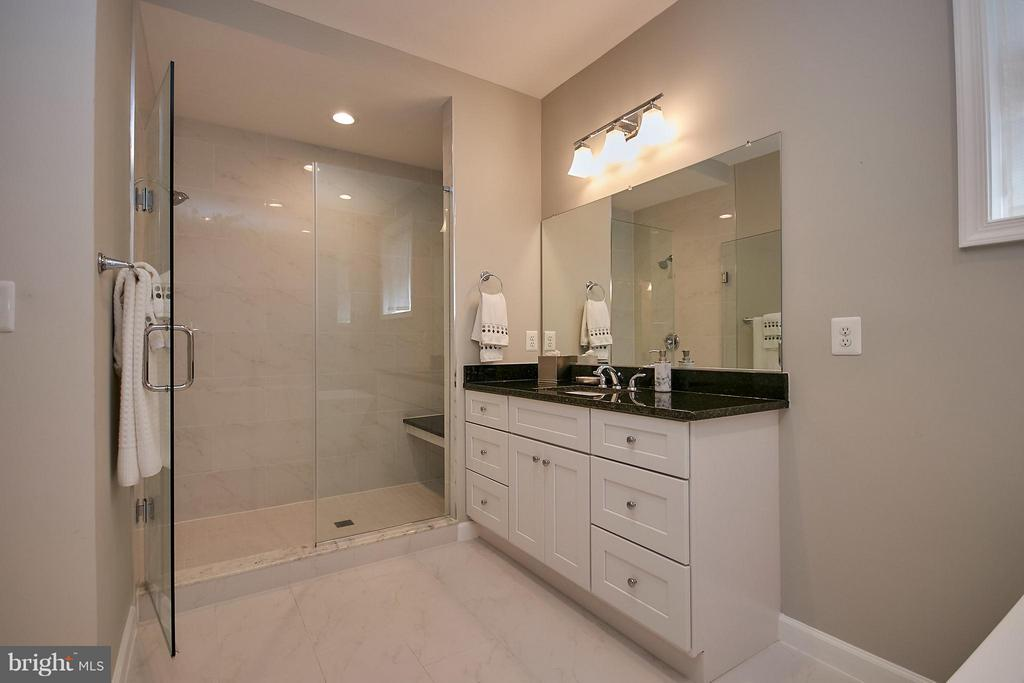 Two Separate Vanities - 6515 MILLER DR, ALEXANDRIA