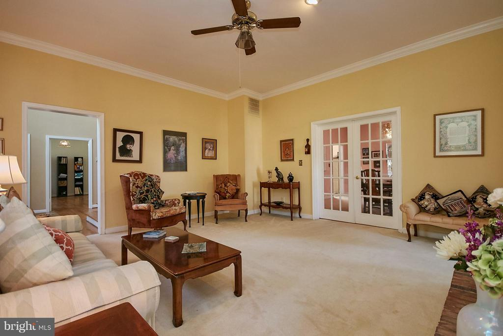 With French Doors to Formal Dining Room - 6515 MILLER DR, ALEXANDRIA