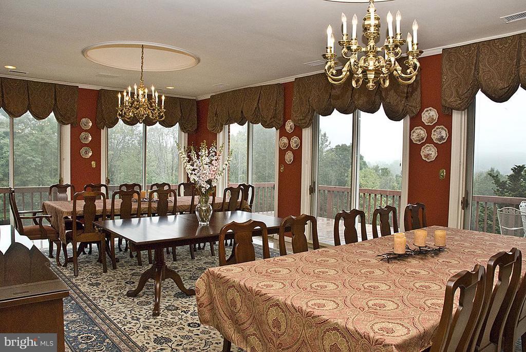 Dining Room - 9583 POSSUM HOLLOW DR, DELAPLANE
