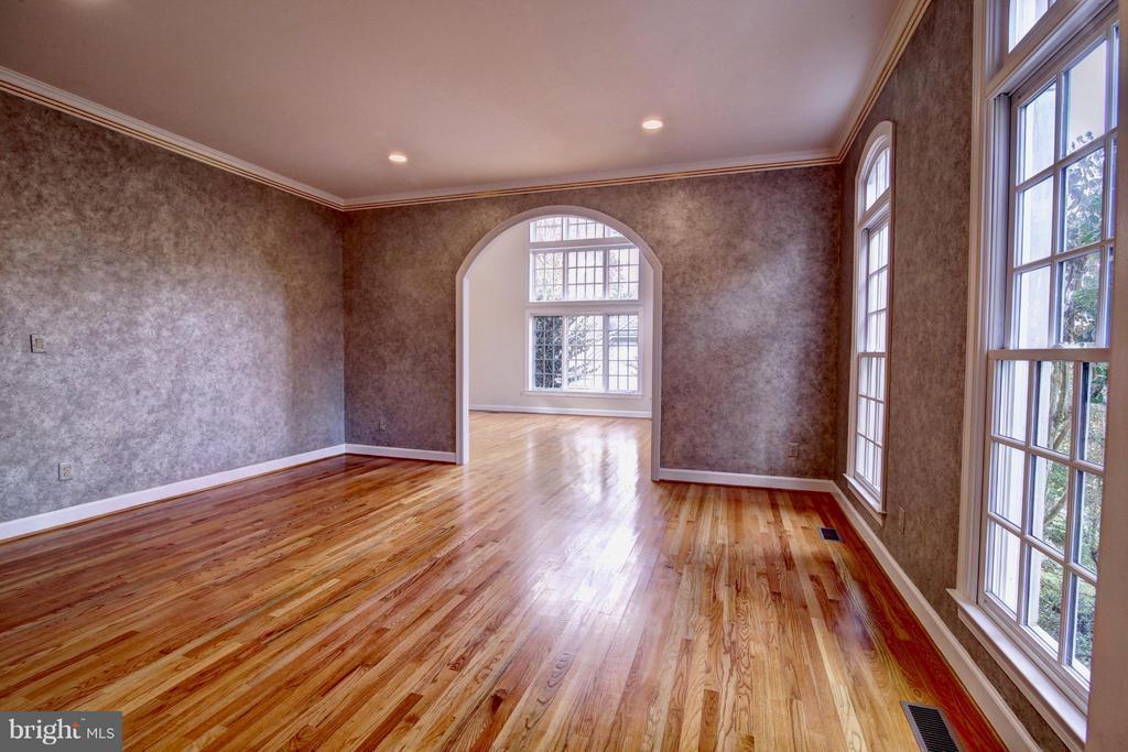 Living Room - 7845 MONTVALE WAY, MCLEAN