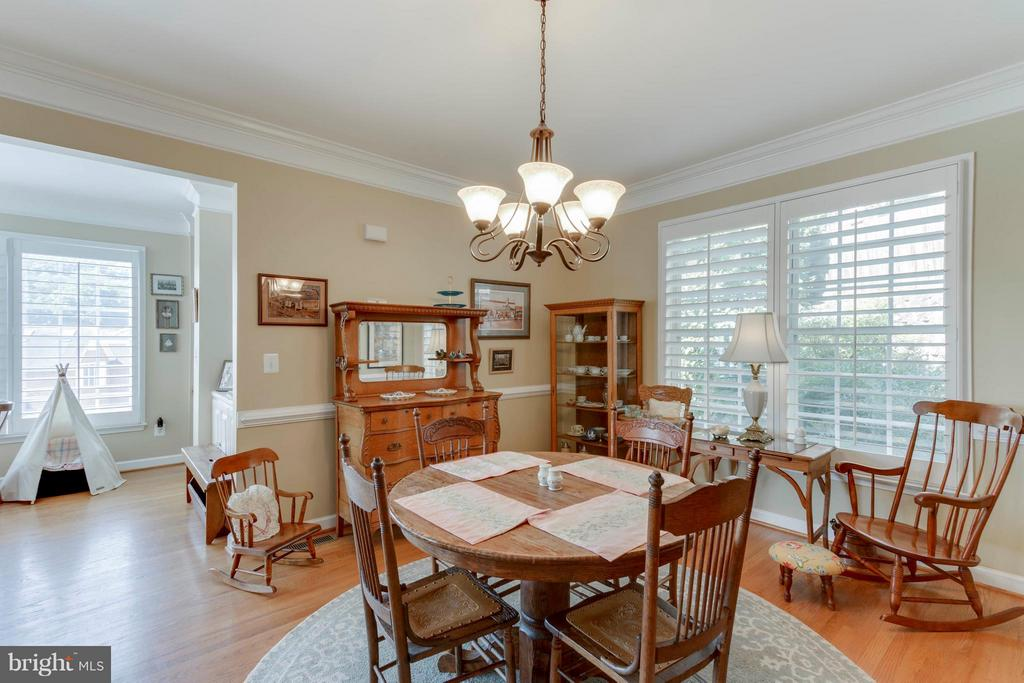 Large, Open Dining Room - 382 MYRTLE PL, OCCOQUAN