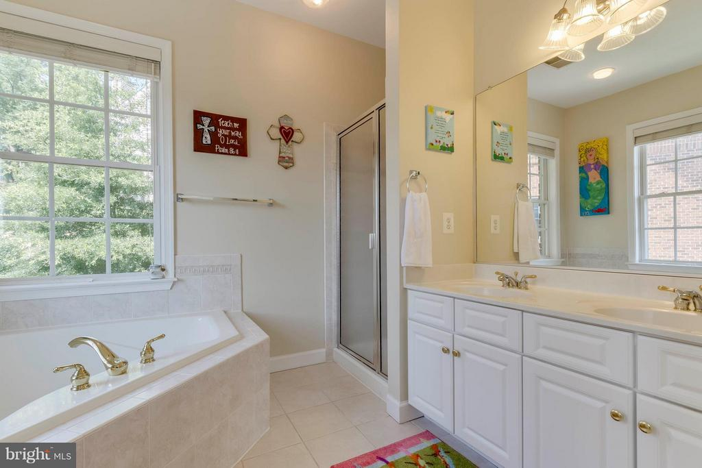 Master Bath W/Separate Tube & Shower - 382 MYRTLE PL, OCCOQUAN